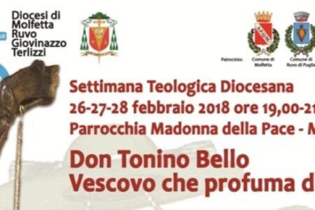Don Tonino Bello: Vescovo che profuma di Chiesa. Settimana Teologica Diocesana