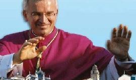 """Annuncio del """"pasquale transito"""" del vescovo Michele Castoro"""